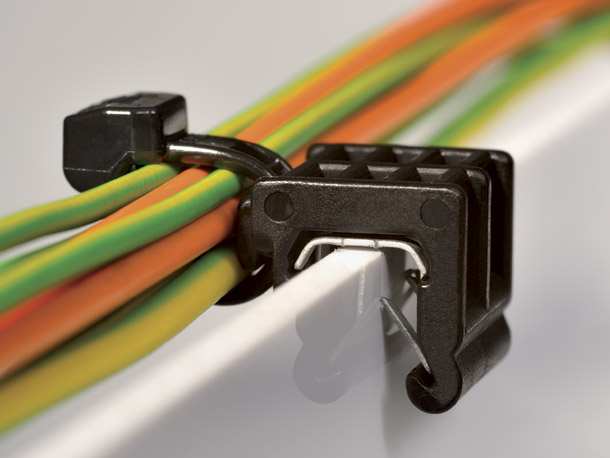 Edge Clip Cable Ties
